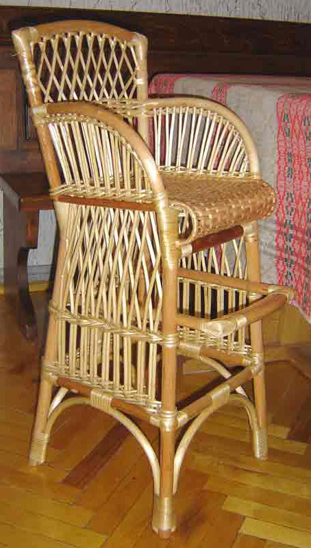 Плетеный стул своими руками фото